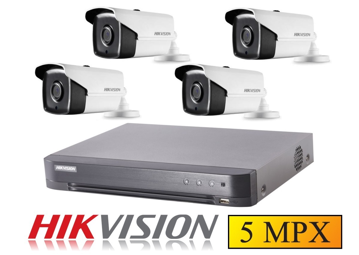 4 kamerový set HIKVISION 5Mpx 16H0T-IT3F-28