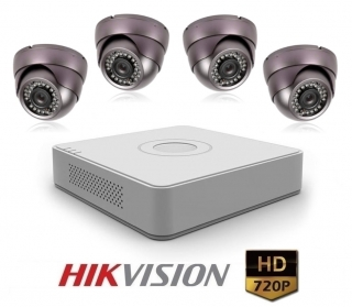 4 kamerový set HIKVISION FISH PURPLE komplet