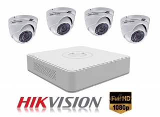 4 kamerový set HIKVISION Full HD 1080p